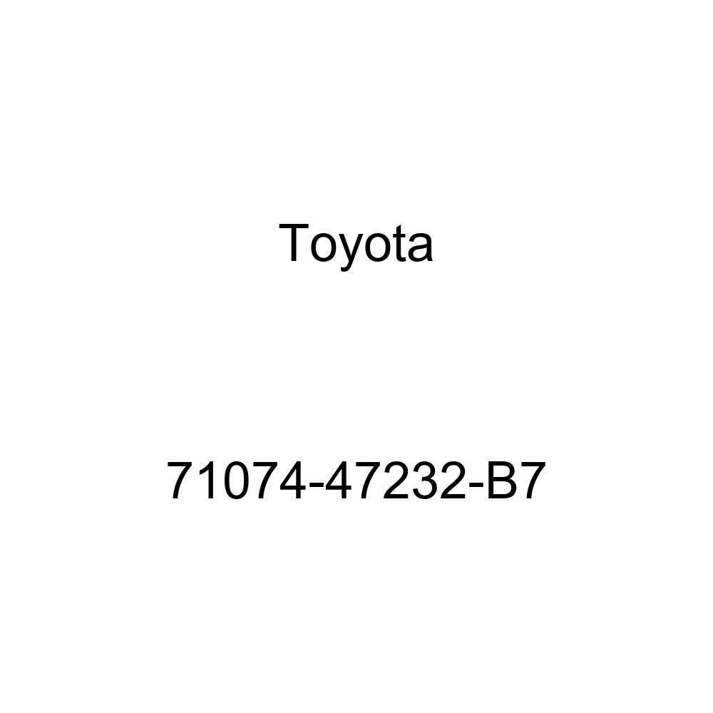 TOYOTA Genuine 71074-47232-B7 Seat Back Cover