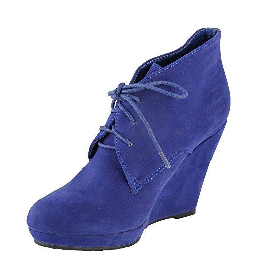 Compensées Unbekannt Bleu Unbekannt Chaussures Femme Chaussures wR5tBxqS