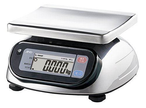 A & D Dust-proof and Waterproof Digital Scales Sl-10kwp by A&D