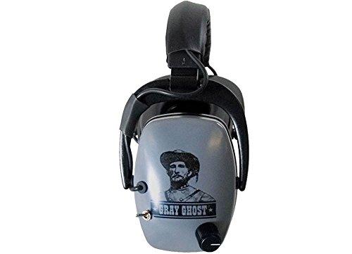 Detectorpro Gray Ghost Ndt Metal Detector Headphones