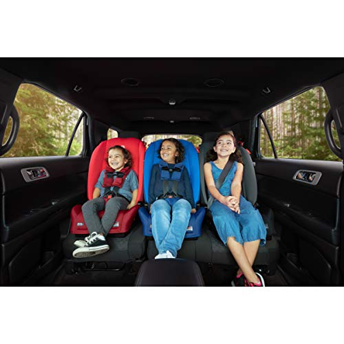 413Rc3W49fL - Diono 2020 Radian 3R, 3 In 1 Convertible, 10 Years 1 Car Seat, Slim Fit Design, Fits 3 Across, Black Jet