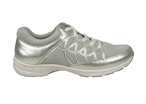 Gris 64 Gabor 43 Mesdames 350 Sports Sneaker Grau Glace Argent vcanw6OHW