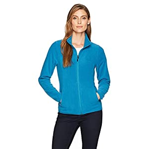 Amazon Essentials Women's Relaxed-Fit Long-Sleeve Full-Zip Polar Soft Fleece Jacket