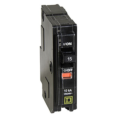 15a 120v Sp Breaker - Your One Source QO115CP 15-Amp 1-Pole Plug-On Circuit Breaker