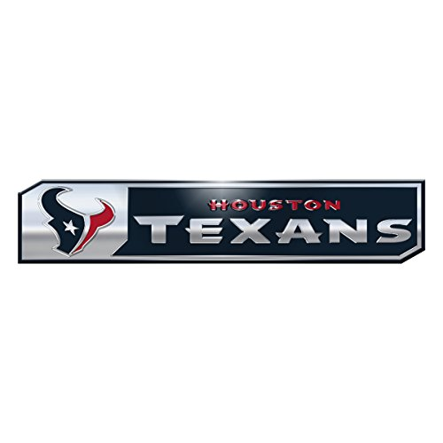 NFL Houston Texans Truck Emblem, 2-Pack