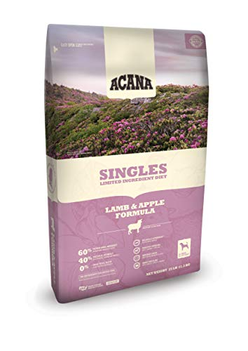 ACANA Singles Limited Ingredient Dry Dog Food, Lamb & Apple, Biologically Appropriate & Grain Free