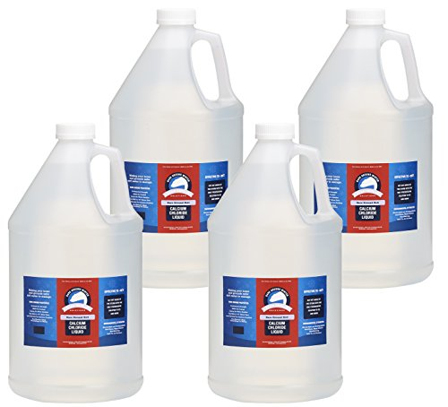 (Bare Ground Bolt BGB-4C Fast-Acting CaCl2 Ice Melt Liquid for All Surfaces, 128 oz (1 Gallon) - Pack of 4)
