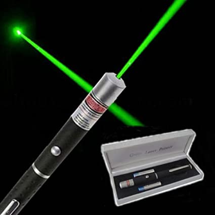 Genxtra Green Laser Pointer Long Range High Power For Amazon In