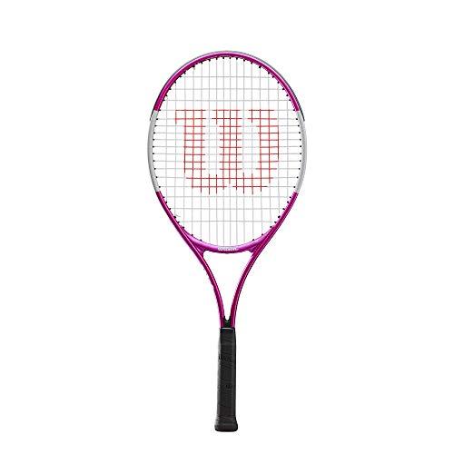 Wilson Raqueta de tenis, Ultra Pink 25, Jugador júnior de entre 9 y 10 años, Aleación AirLite, Rosa/blanco, WR027810U a buen precio