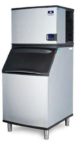 Manitowoc IY-0454A_B-570 450 Lb Air Cooled Half Cube Ice Machine w/ Storage Bin by Manitowoc Ice