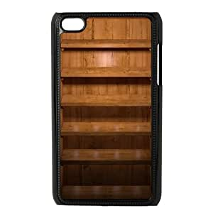 Medium Brown Shelves iOS7 iPod Touch 4 Case Black phone component RT_231877
