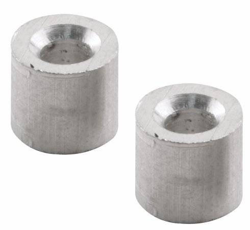 Cable Stops, 3/16'', Extruded Aluminum, Pack of 30