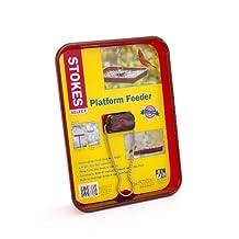 Stokes Select Platform Bird Feeder, 2.3 lb Capacity