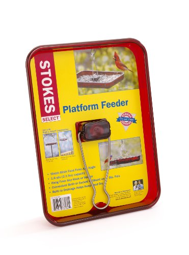Stokes Select Platform Bird Feeder, 2.3 lb Capacity