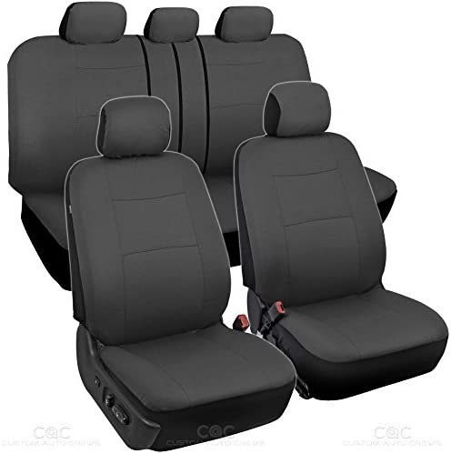 BDK Charcoal Black Seat Covers product image