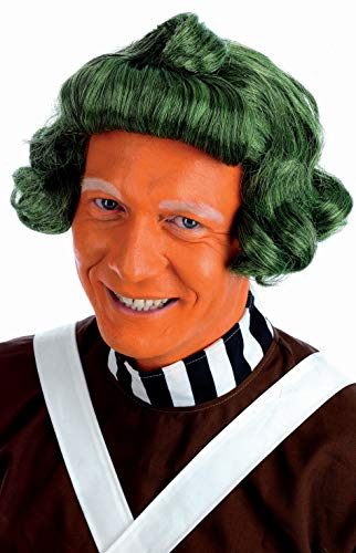 fun shack, Mens Oompa Loompa Wig, One