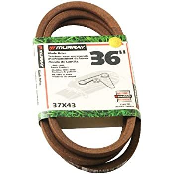 Amazon.com : Aeagle Mower Blade Drive Belt for Murray 37X111 ...