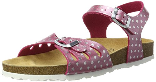 Bioline Bas Sandal Chaussons silber Lico pink Femme Pink dRaPpw