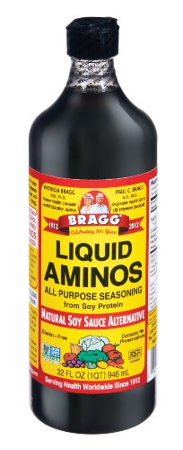 Bragg Amino Protein Concentrate, Liquid, 32 Ounce (Pack of 12)