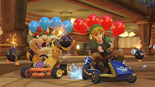 Nintendo Switch w/ Neon Blue & Neon Red Joy-Con + Mario Kart 8 Deluxe (Full Game Download) + 3 Month Nintendo Switch Online Individual Membership Best Deal Site | Setia menemani anda