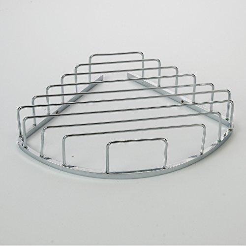 Corner Basket Shelves by MAMOLUX ACC| Solid Brass Shower Basket Shelf Tidy Rack Caddy Storage Organizer Chrome Finish|Space Saving Toiletries/Cosmetics Holder by Marmolux Acc (Image #3)