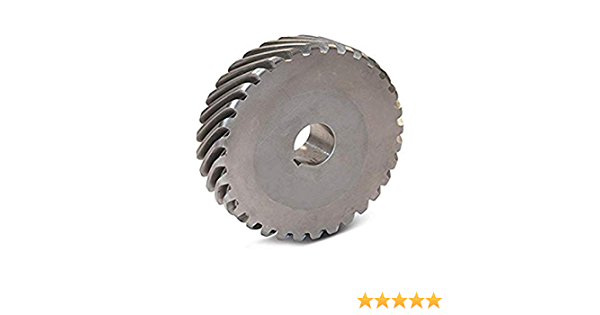 0.188 Bore 8 Teeth Steel 24 Pitch 14.5 Degree Pressure Angle LH 45 Degree Helix Boston Gear H2408L Plain Helical Gear