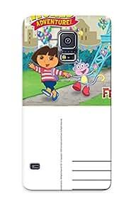 Galaxy S5 Dora The Explorer Postcard Print High Quality Tpu Gel Frame Case Cover wangjiang maoyi