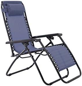 Sunjoy S DNC1384PST Zero Gravity Chair Blue product image