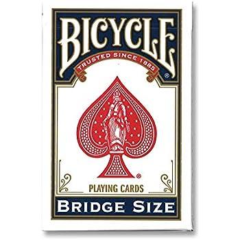Amazon.com: Puente de bicicleta tamaño naipes (los colores ...