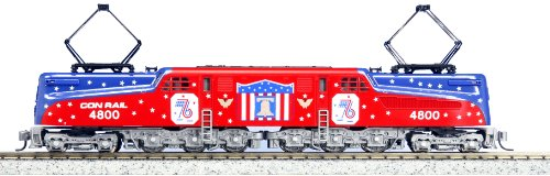 "Conrail ""Bicentennial"" #4800 GG1 Electric Locomotive, Kato #137-2015 N Scale"