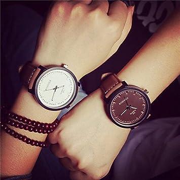 pareja relojes hombre mujer 95d2fea73b70