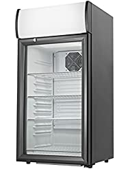 Grindmaster Cecilware CTR2.68LD Countertop Refrigerator with 4 Shelves, 2.7 Cubic Feet, Black