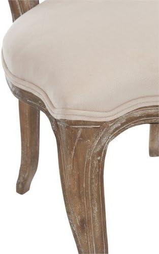 SET 6 PEZZI Sedia provenzale francese velluto in legno di