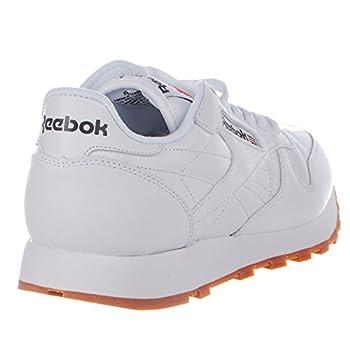Reebok Men's Classic Leather Sneaker, Whitegum, 9 M Us 4