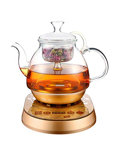 - YONGYONGCHONG Multifunctional Cooking Teapot Glass Tea Set Electric Kettle Kettle Steamer Automatic Insulation Electric Teapot Household Teapot Heater