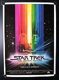 Star Trek The Motion Picture Bob Peak Original Single Sided Rolled 17x24 Movie Poster 1979