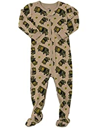 UPS Truck Baby Girls Boys Footed Pajamas Sleeper 100% Cotton Kids   Toddler  Pjs ( 7e49244c9