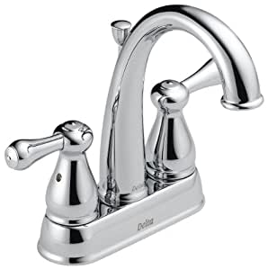 Delta Leland 25975lf Two Handle Centerset Bathroom Faucet