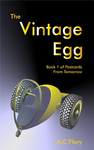 Vintage Egg Postcards Tomorrow Book ebook product image