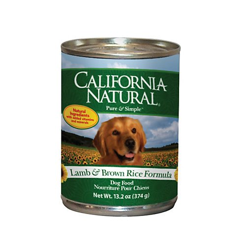 California Natural Canned Dog Food 12 Pack Lamb