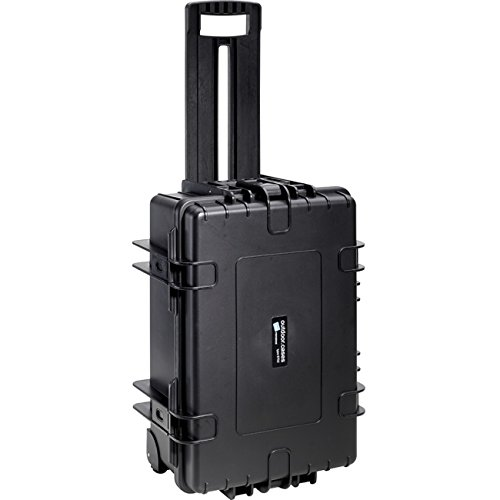 B&W International 6700/B/DJI4 Type 6700 Outdoor Case with Custom DJI4 Phantom Insert, Black