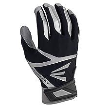 Easton Z7 VRS Hyperskin Batting Gloves, Gray/Black, Small