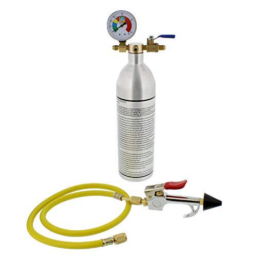 BISupply   Air Conditioning Flush Kit - 150PSI AC Flush Canister and AC Flush Gun Kit, HVAC and Refrigerant Flush ()