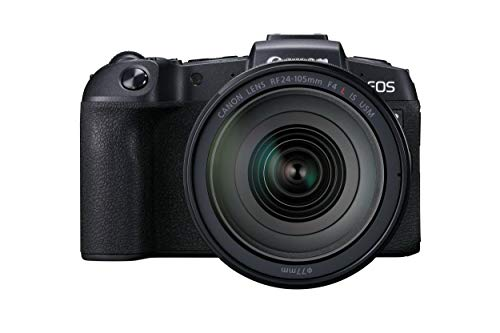 Canon EOS RP Compact System Camera with RF 24-105mm f/4.0 L IS USM Lens and Mount Adapter EF-EOS R