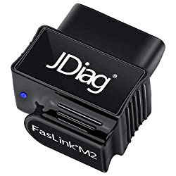 OBD2 Scanner Bluetooth Professional Car Diagnostic OBDII Scan Tool for iPhone & Android