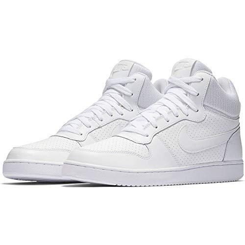 Nike Mens Court Borough MID White White Size 11