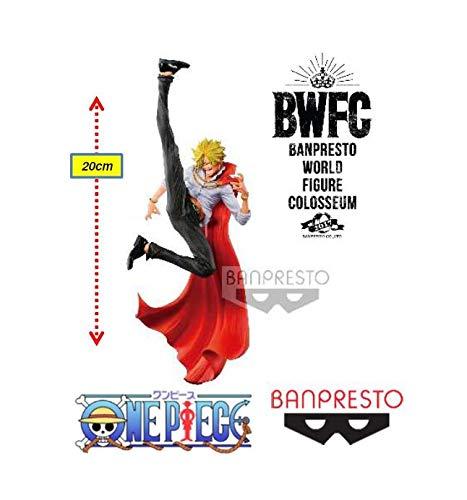 Onepiece Banpresto World Figure Colosseum2 Vol.2(a: Normal Color Ver) Sanji Ref: 29301/29302 Bandai Banpresto/