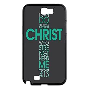 Personalized Cross Phone Case, Customized Hard Back Case Cover for Samsung Galaxy Note 2 N7100 Cross