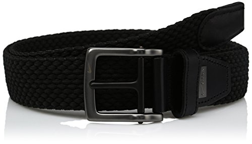 Nike Men's G-Flex Woven Stretch Golf Belt, jet black for sale  Delivered anywhere in USA