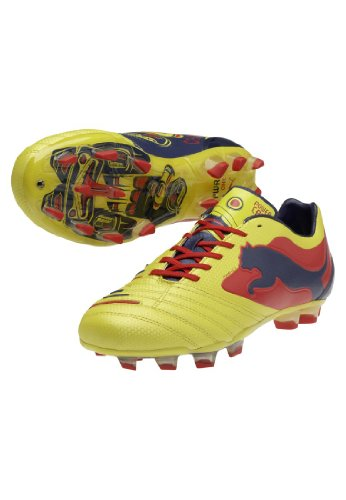 Puma Bota PowerCat 1 Graphic FG Amarilla amarillo